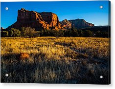 Sedona Light Acrylic Print by Bill Cantey