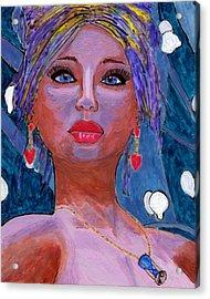 Sedona Moonlight Acrylic Print