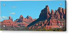 Acrylic Print featuring the photograph Sedona Panorama by Debby Pueschel