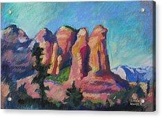 Sedona Peaks Acrylic Print