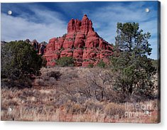 Sedona Red Rock Formations Acrylic Print