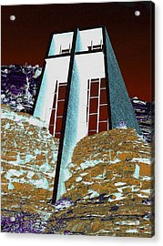 Sedona Rock Church Acrylic Print