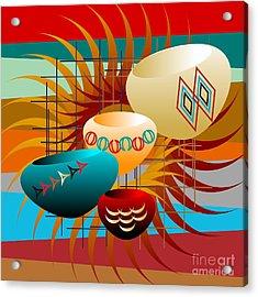 Sedona Still Life 2012 Acrylic Print