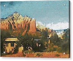 Sedona Acrylic Print by Susan Maxwell Schmidt