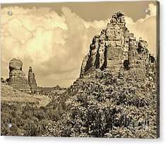 Sedona Acrylic Print by William Wyckoff