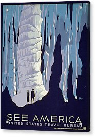 See American Caverns Acrylic Print