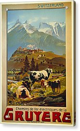 See Switzerland 1906 Acrylic Print by Mountain Dreams