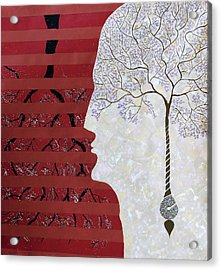 Seed Of Thought Acrylic Print by Sumit Mehndiratta