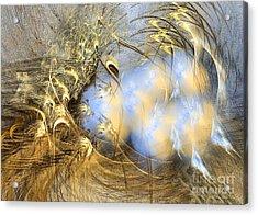 Seeds Of Peace - Surrealism Acrylic Print