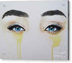 Seeing Into The Soul Secretive Acrylic Print