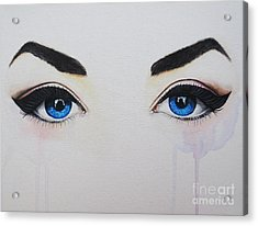Seeing Into The Soul Seductive Acrylic Print