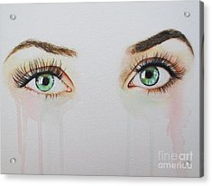 Seeing Into The Soul Sultry Acrylic Print