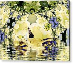 Seeing It Through Acrylic Print by Elizabeth McTaggart