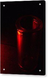 Seeing Red Acrylic Print by Everett Bowers