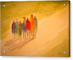 Seekers I Acrylic Print