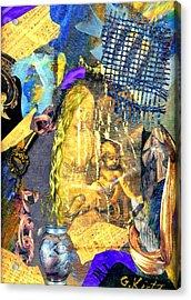 Seeking Acrylic Print by Gail Kirtz