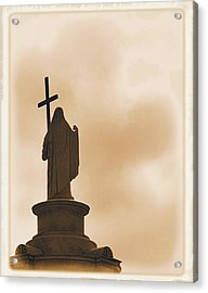 Acrylic Print featuring the photograph Seeking The Divine by Nadalyn Larsen