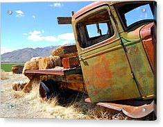 Seen Better Days Truck Acrylic Print by Tamyra Crossley