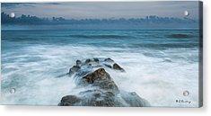 Seeping In Acrylic Print by Bill Cantey