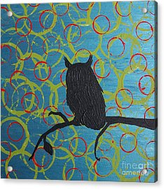 Acrylic Print featuring the painting Seer by Jacqueline McReynolds