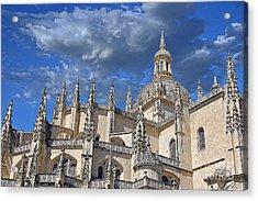 Segovia Gothic Cathedral Acrylic Print