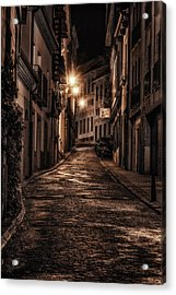 Segovia Predawn Acrylic Print by Joan Carroll