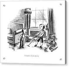 Seizure Of Property Acrylic Print