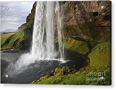Selandsfoss In Iceland Acrylic Print