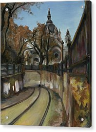 Selby Tunnel Acrylic Print by Grace Hasbargen