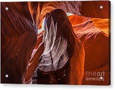 Selective Sand Acrylic Print