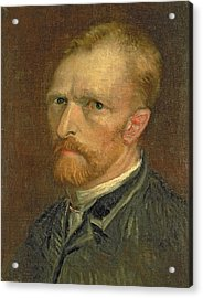 Self Portrait, 1886 Acrylic Print by Vincent van Gogh