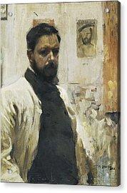 Self-portrait. 1900 Acrylic Print by Everett