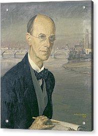 Self Portrait, 1924 Acrylic Print by Arthur Rackham