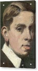Self Portrait Acrylic Print by Francis Campbell Boileau Cadell