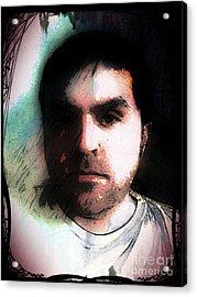Self Portrait Metal Acrylic Print by Jose Benavides