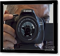 Acrylic Print featuring the photograph Self-portrait by Pedro L Gili
