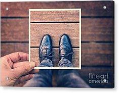 Selfie Acrylic Print