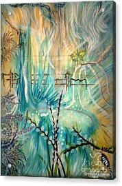 Selva Sfumato Acrylic Print by Adriana Garces