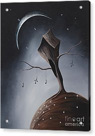 Send Me Your Love While I Sleep By Shawna Erback Acrylic Print by Shawna Erback