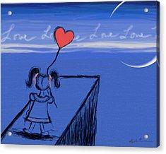 Sending Love Acrylic Print