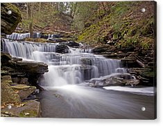 Seneca Falls In Spring Acrylic Print by Shelly Gunderson
