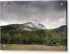 Seneca Rocks Acrylic Print