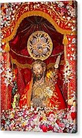 Senhor Santo Cristo Dos Milagres Acrylic Print by Gaspar Avila