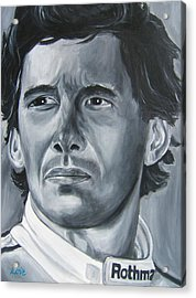Senna Daze Acrylic Print by Joseph Love