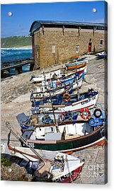 Sennen Cove Fishing Fleet Acrylic Print