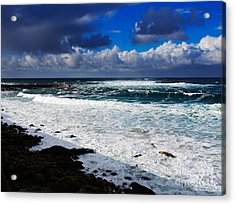 Sennen Cove In Cornwall Acrylic Print by Louise Heusinkveld