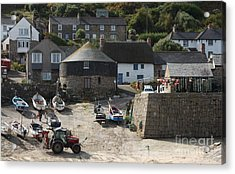 Sennen Cove Acrylic Print by Linsey Williams