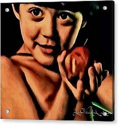 Sense Of Innocence  Acrylic Print