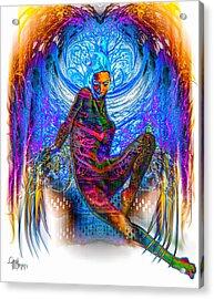 Sensual Claws 2 - The Dark Side Acrylic Print