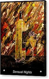 Sensual Nights Named Acrylic Print by Mark Moore